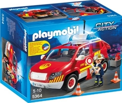 Picture of PLAYMOBIL 5364 - Fire engine with light and sound