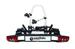 תמונה של Westfalia BC 60 (Model 2018) Bicycle carrier for the trailer hitch - Collapsible clutch carrier for 2 bicycles - E-bike suitable universal wheel carrier with 60kg payload
