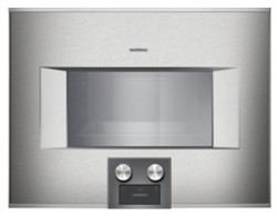 Изображение Gaggenau Steam Oven BS 454 110 right stop