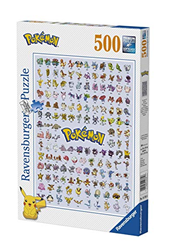 תמונה של Ravensburger Pokémon Puzzle 1. Generation, 500 pieces, 14781