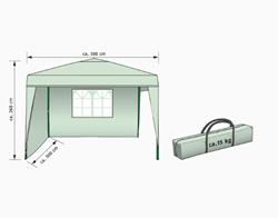 Изображение FLORABEST aluminum folding pavilion