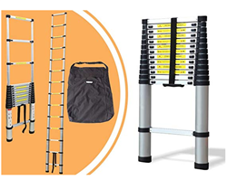 Picture of Aluminium telescopic ladder