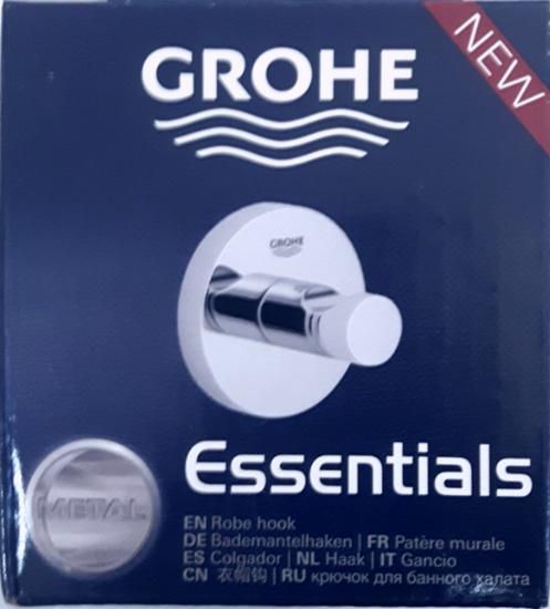 Picture of GROHE Essentials | Bath Accessories - Bathrobe Hooks chrome | 40364001