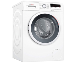 Изображение Bosch WAN28121 Washing Machine, Front-Loading, Energy Efficiency Class A+++, 1400 rpm, Start Time Delay, Anti-Vibration Design, White [Energy Class A+++]