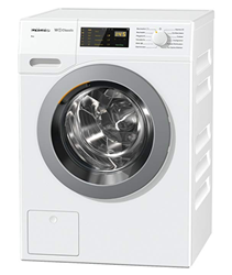 Picture of Miele WDB 005 WCS Washing Machine/with Highest Energy Efficiency Class A+++/175 kWh per Year/Washing Machine 7 kg for Gentle Washes/Miele Washing Machine with Easy Fingertip Operation, White [Energy Class A+++]