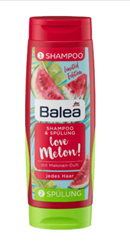 Изображение Balea Shampoo & Conditioner Twinpack Melon Love 2x150ml, 300 ml