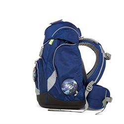 Picture of Ergobag Pack BlaulichtBär - Blue, ergonomic school backpack, set of 6, 20 liters, 1,100 g, blue