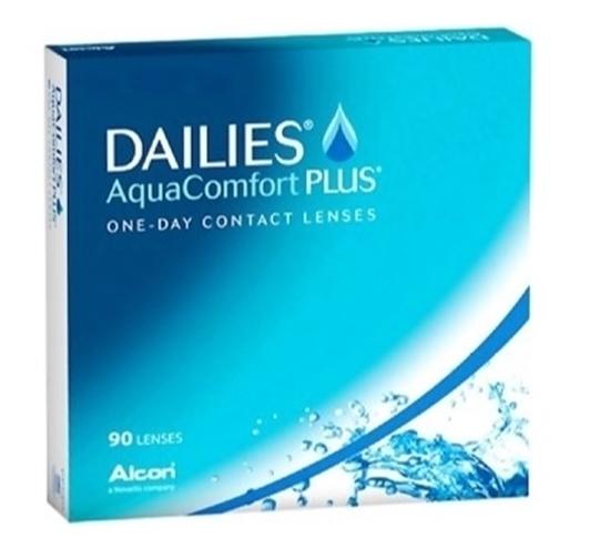 תמונה של עדשות מגע יומיות מבצע חם Alcon Dailies AquaComfort PLUS