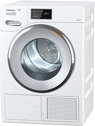 Picture of Miele TMV 843 WP heat pump dryer / energy class A +++ (193kWh / year) / 9kg Gentle drum / steam function for ironing the laundry / fragrance bottle for freshly scented laundry / connectable via WiFiConnect
