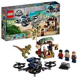 Изображение LEGO 75934 - Jurassic World Dilophosaurus on the curse, construction kit