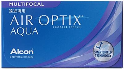 תמונה של עדשות מגע שבועיות מולטיפוקל Alcon  Air Optix Multifocal (6 pcs.)