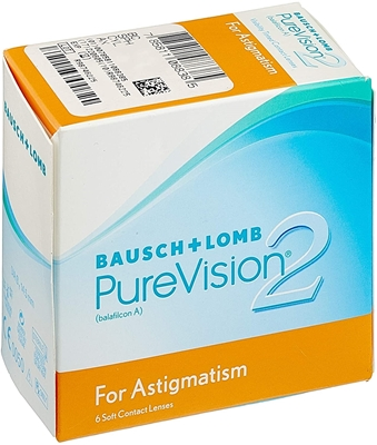 Изображение Bausch & Lomb PureVision 2 HD for Astigmatism (6 pcs.)