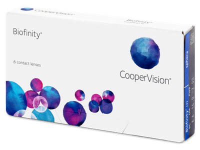Изображение Biofinity monthly lenses 6 lenses per pack