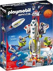 Изображение Playmobil 9488 Mars Rocket with Launch Ramp