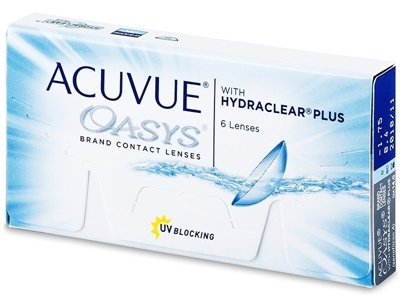 Изображение Johnson & Johnson Acuvue Oasys with Hydraclear Plus