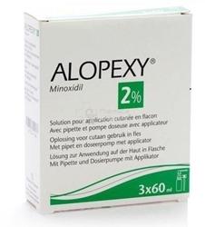 Изображение Alopexy 2%, 3x60 ml solution