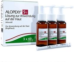 Изображение Alopexy 5%, 3x60 ml solution