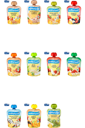 תמונה של פירות בשקית לסחוט babylove