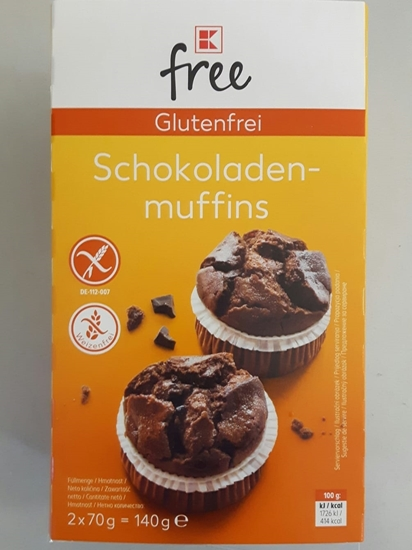 Picture of chocolate muffins gluten free