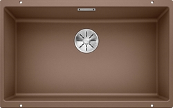Picture of BLANCO Subline 700-U Silgranit Undercounter sink with eccentric Muskat 523450