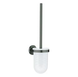Изображение Grohe Essentials Toilet Brush Set 40374AL1 Hard Brushed Graphite