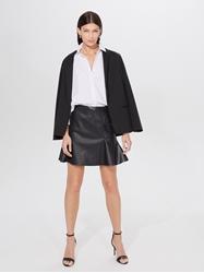 Изображение mohito Leather imitation mini skirt