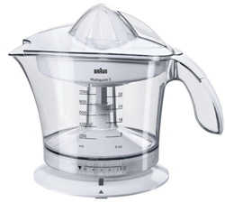 Picture of Braun Multiquick 3 MPZ9 Citrus Juicer  (20 W, 1.4 Kg) white