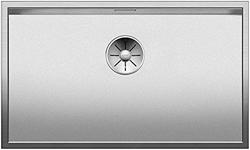 תמונה של בלאנקו Zerox 700-IF Durinox, כיור, כיור מטבח, עבור נורמלי סומק הרכבה, אפס עיצוב רדיוס, InFino זרבובית, נירוסטה Durinox; 523,099