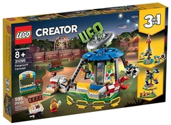 Изображение LEGO 31095 - Creator 3-in-1 Set Fairground Carousel