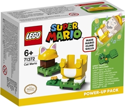 Picture of LEGO 71372 Super Mario Cat Mario Suit Expansion Set, Power-Up Pack, Climbing Wall Costume Visit the LEGO Store