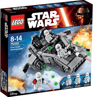 Изображение Lego 75100 Star Wars First Order Snowspeeder