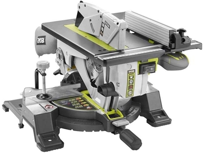 Picture of Ryobi miter saw, table saw RTMS1800-G (green / gray, 1,800 watts)