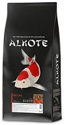 Picture of ALKOTE Multi Mix Seasonal Food for Koi Carp, Floating Pellets for Summer Months, Complete Feed, 13.5 KG,Length: 6mm