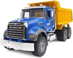 Picture of Bruder MACK Granite truck with tipping body (02815)