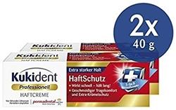 Изображение Kukident adhesive cream adhesive protection, 2-pack (2 x 40 g)