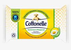 Изображение Cottonelle Moist toilet paper naturally nourishing, 40 pcs