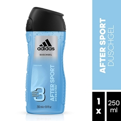 Picture of adidas After Sport for Men 3-in-1 Shower Gel 250 ml