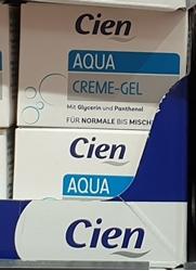 Picture of Cien aqua creme gel