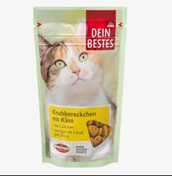 תמונה של חטיף לחתולים, נגיסים עם גבינה, 65 גרם