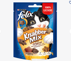 Picture of Snack for cats, KnabberMix Original, 40 g