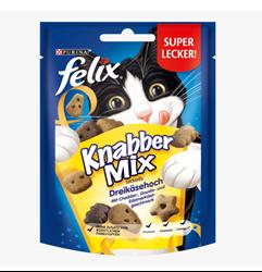 תמונה של חטיף לחתולים, KnabberMix Dreikäsehigh, 40 גרם