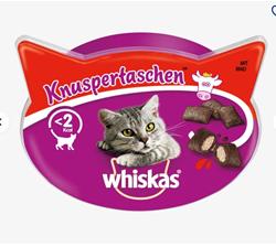 Изображение Whiskas Snack for cats, Knuspertaschen ™ with beef, 60 g