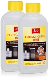 Изображение 2x Melitta Espresso Machines 202034 Perfect Clean Milk System Cleaner 250ml