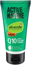 Изображение  alverde MEN Active Nature Q10 anti-wrinkle cream