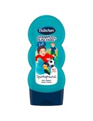"""תמונה של שמפו ילדים למקלחת סופר שוואר 230 מ""""ל של חברת Bübchen"""