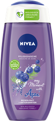 Изображение NIVEA Shower gel my Moment with Acai, 250 ml
