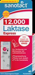 Изображение sanotact Express lactase 12,000 chewable tablets, 40 pieces, 18 g