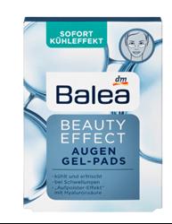 Изображение Balea Eye Pads Beauty Effect Gel Pads, 6 pcs