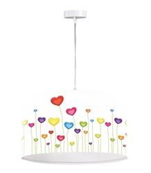 Изображение Drum pendant light, 1-lamp Eva