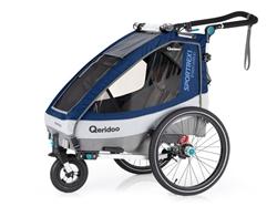 Изображение Qeridoo bike trailer Sportrex1 2020 Limited Edition